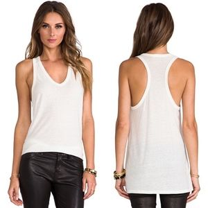 (T by Alexander Wang) Classic Tank with Pocket
